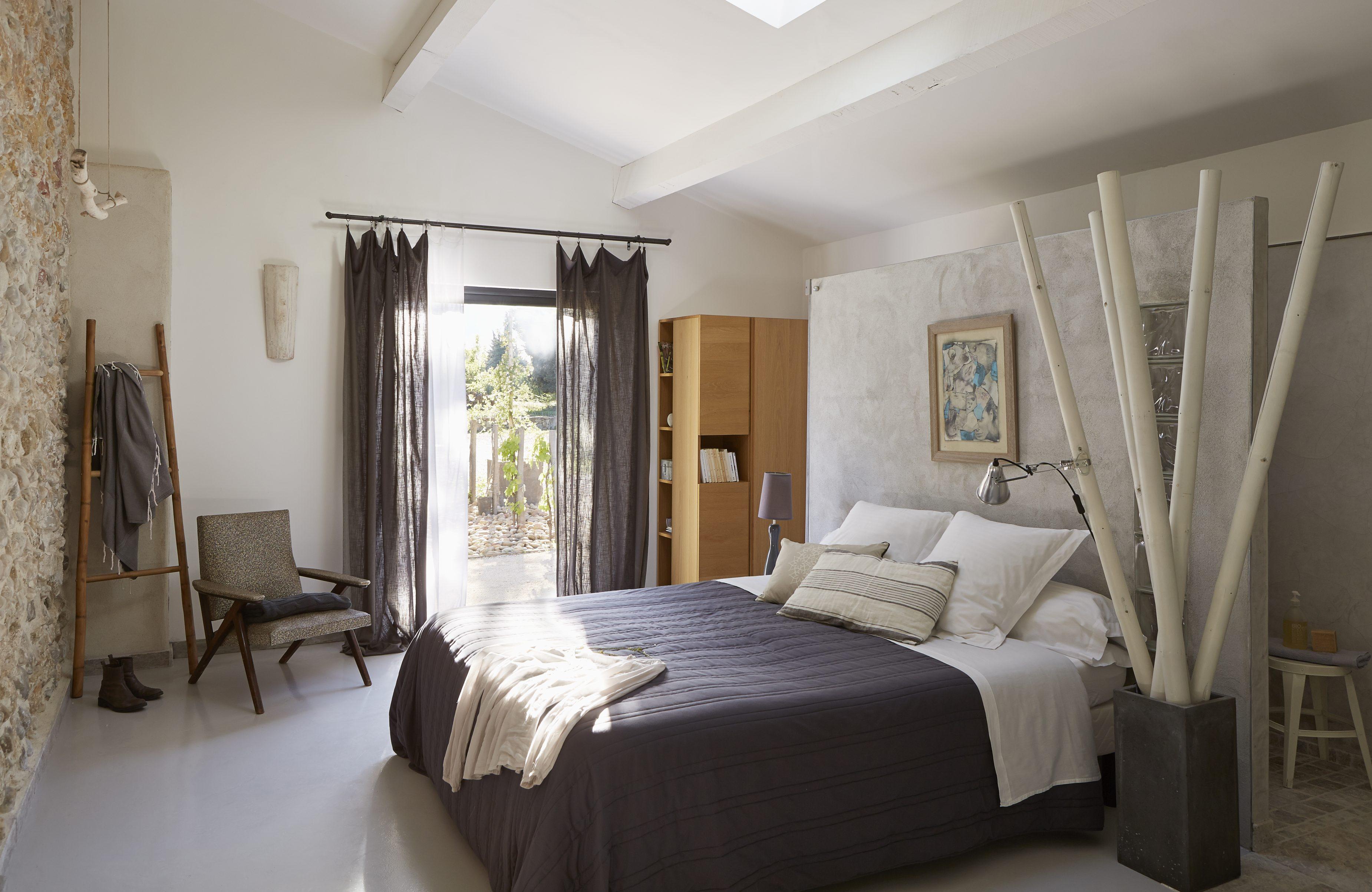 Vue intérieure chambre 1 chambres d'hôtes en Provence