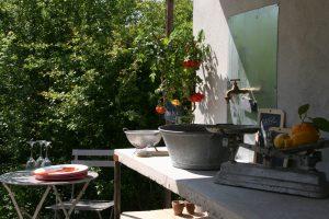 Cuisine d'été au coin des figuiers chambres d'hôtes en Provence