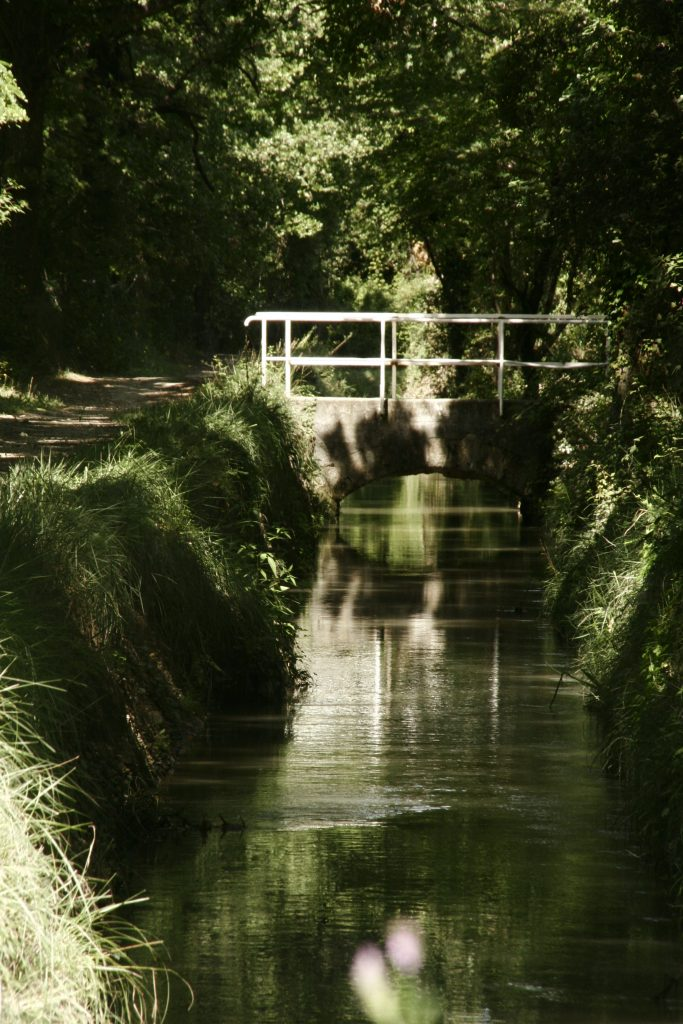 Canal de Carpentras proche Au coin des figuiers chambres d'hôtes en Provence