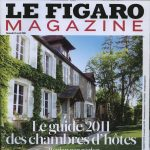 Parution Le Figaro magazine au coin des figuiers chambres d'hôtes en Provence