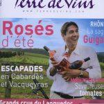 Parution terre de vin au coin des figuiers chambres d'hôtes en Provence